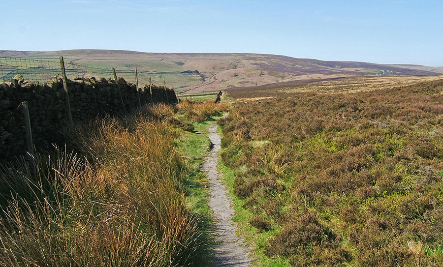 the landscape of wuthering heights