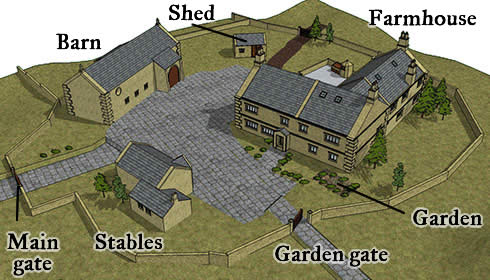Horse farm layout plans image search results Small farm plans layout